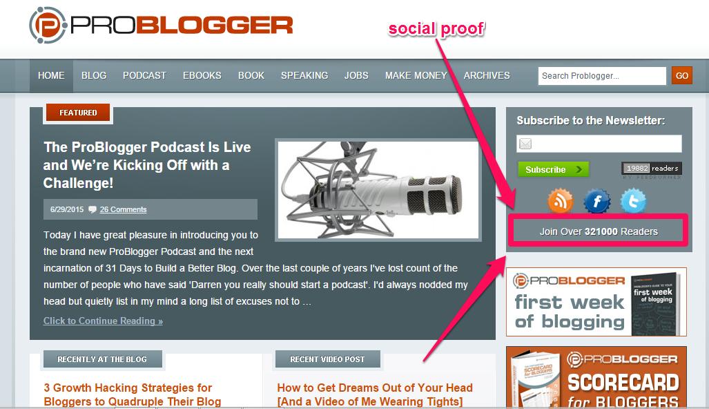 problogger CTA example